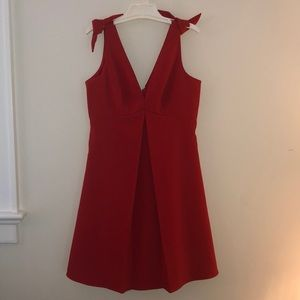 Likely Red Cocktail Dress